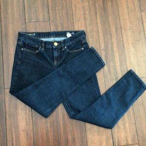 J Crew Toothpick Ankle length jeans